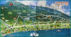 Туристическая карта Гагры