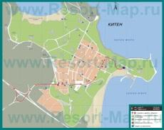 Подробная карта города Китен