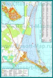Подробная карта города Поморие
