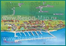 Карта отелей Святого Власа