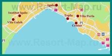 Карта отелей �гало