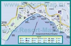 Туристическая карта курорта �гало