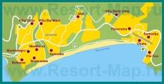 Карта отелей Рафаиловичей
