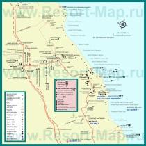 Туристическая карта Пунта Каны