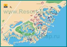 Туристическая карта курорта Эль-Гуна