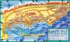Карта города Хургада