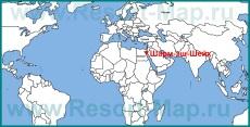 Шарм-эш-Шейха на карте мира