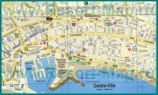Туристическая карта Канн