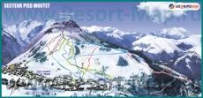 Карта трасс Ле дез Альп