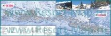 Подробная туристическая карта Валь-Сени