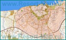 Подробная карта города Ираклион