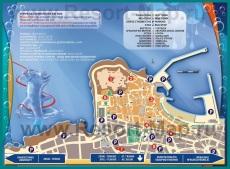 Туристическая карта Ретимно