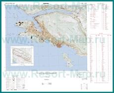 Подробная карта города Дубровник