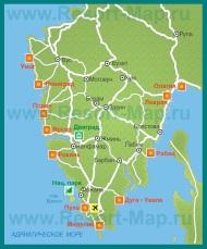 Карта курортов �стрии