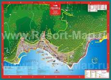 Туристическая карта Подгоры