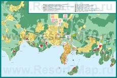Подробная карта города Пореч