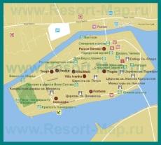 Карта отелей Трогира