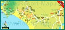 Карта отелей Арамболя
