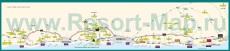 Подробная карта побережья Коста-дель-Соль