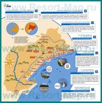 Туристическая карта Коста-Дорада