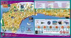Подробная карта курорта Кадис