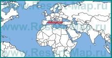 Остров Майорка на карте мира