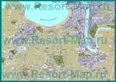 Туристическая карта курорта Сан-Себастьян