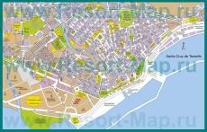 Карта города Санта-Крус-де-Тенерифе