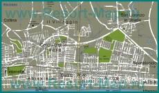 Подробная карта города Риччоне