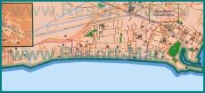 Подробная карта курорта Террачина