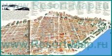 Туристическая карта Гаваны