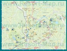 Карта отелей Куала-Лумпура