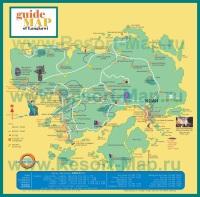 Карта отелей Лангкави