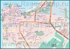 Карта дорог Анапы