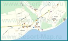Подробная карта Бетты с улицами и домами