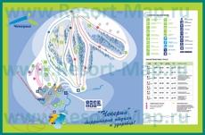 Подробная туристическая карта Чекерила