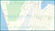 Подробная карта Должанской с улицами и домами