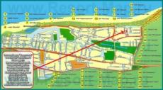 Базы отдыха и гостиницы на карте станицы Голубицкая