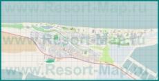 Подробная карта станицы Голубицкая