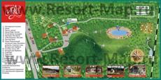 Туристическая карта �горы