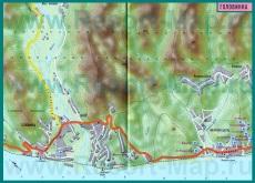 Карта поселка Головинка с гостиницами