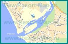 Подробная карта Головинки с улицами и номерами домов