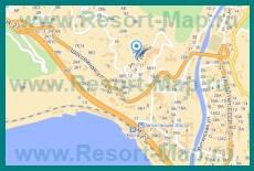 Подробная карта Хосты с улицами и номерами домов