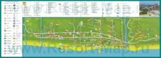 Карта отелей Лазаревского