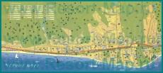Туристическая карта Лазаревского