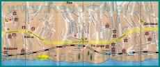 Подробная карта Лоо с гостиницами