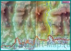 Карта курорта Макопсе