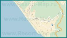 Подробная карта Волконки с улицами и домами