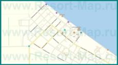 Подробная карта Кучугур с улицами и номерами домов