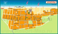 Туристическая карта поселка Кучугуры